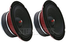 "2 DS18 PRO-X8MSE 550 Watt 8-Ohm Sealed Basket 8"" Midrange Speaker Car Stereo Mid"