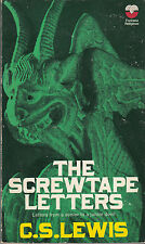 The Screwtape Letters - PB 1972 - C. S. Lewis - Christianity