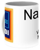 FUNNY spoof supermarket value mugs