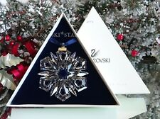 New Listing1999 Swarovski Annual Large Christmas Ornament Star Snowflake #235913