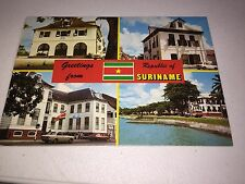 Greetings from Republic Of Suriname Postcard