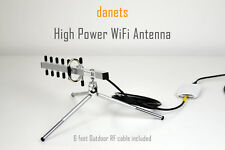2200mW NextG USB-Yagi TurboTenna WiFi Antenna with 6FT OUTDOOR RF CABLE