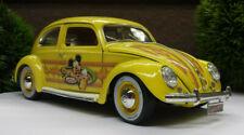 Bburago VW Käfer Walt Disney Micky Mouse Modellauto 1:18