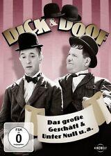 DVD * DICK & DOOF - DAS GROSSE GESCHÄFT & UNTER NULL U.A. # NEU OVP /