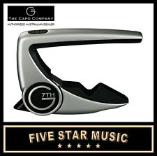 3 x G7 Performance Guitar 2 Capo G7th WORLD'S BEST CAPO JUST BETTER - NEW