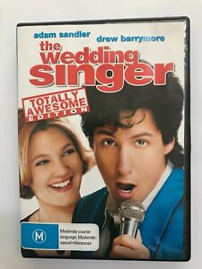 The Wedding Singer - Totally Awesome Edition (1998, R4, Sandler & Barrymore)