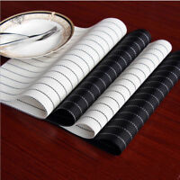 4pcs Simple Insulation Bowl Placemats Kitchen Dining Room Pad Western Table Mat