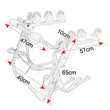 Fahrradträger Fahrradhalter Heckträger Fahrrad Faltbar Heckklappe Heckträger Neu