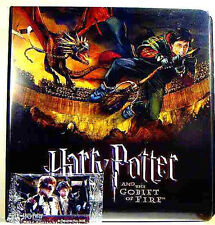 Harry Potter Goblet of Fire Binder and Promo Card Set New