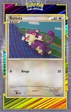 🌈Rattata - HS04:Indomptable - 64/90- Carte Pokemon Neuve Française