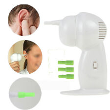 Electric Ear Wax Dirt Remover Vacuum Cleaner Painless Cordless Safety Earwax_GG