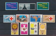 LN74102 Kenya mixed thematics nice lot of good stamps MNH