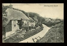 Sussex HARTING from South used 1910 PPC Emm's Series card