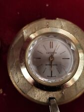 Vintage Lucerne Women's SWISS MADE, Gold Tone, antimagnetic Pendant Watch