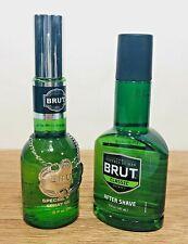 Men's BRUT Special Reserve 3 oz Cologne and BRUT Classic After Shave 5 oz NEW