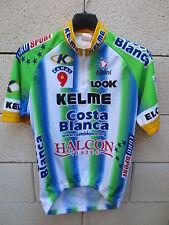 Maillot cycliste KELME COSTA BLANCO Look  Nalini camiseta shirt BOTERO 2000 S
