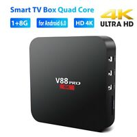 SMART TV BOX QUAD CORE WIFI 1GB 8GB HD 4K SET-TOP MEDIA PLAYER FOR ANDROID 6.0