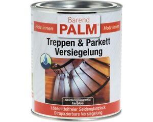 Barend Palm Treppen- & Parkettversiegelung farblos 0,75 L / 2,5 L