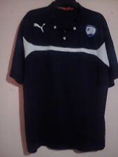 CHESTERFIELD FOOTBALL CLUB NAVY BLUE POLO SHIRT XXXL 3XL EXCELLENT CONDITION CFC