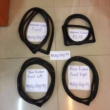 For Datsun 720 Weatherstrip Rubber Complete Set Seal Ute Truck Pickup New 4PCS