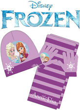 OFFICIAL Disney FROZEN Baby Toddlers Girl 3pcs SET Winter Hat Scarf and Gloves