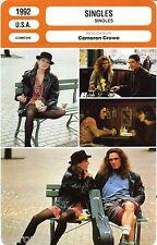Fiche Cinéma. Movie Card. Singles (USA) Cameron Crowe 1992