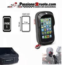 supporto per smartphone cellulare universale givi s955 tubolare moto i-phone 5 4