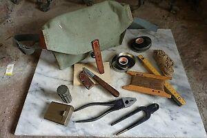 Vintage ANTON GREBER DYNAMITE BLASTING CRIMPER KIT Mining Construction Blasting