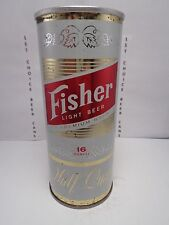 FISHER STRAIGHT STEEL 16 oz PULL TAB BEER CAN #151-8-A  GENERAL BRG. COLORADO