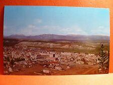 Postcard Canada Yukon Whitehorse Airview of City 1950's