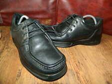 Ellesse black leather lace up mens shoes uk 8 er 42