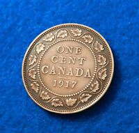 1917 Canada Cent - Fantastic Coin - BRN - See Pictures