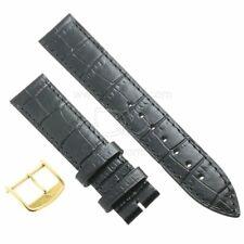 Longines Cinturino L682101262 FG Stampa Alligatore Nero 18/16 mm fibbia PVD