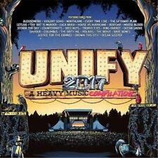 UNIFY 2017 A HEAVY MUSIC COMPILATION VARIOUS ARTISTS 2 CD NEW