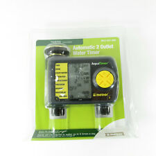 Melnor Automatic 2 Outlet Water Timer SKU 557-869 LCD Screen New in Package