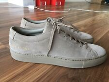 Common Projects 40 Achilles Taupe Suede