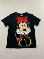 DISNEY MINNIE MOUSE Short Sleeve Top T-Shirt Size Child L Large Girls