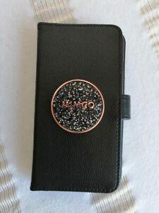 Mimco Bliss Black / Rose gold Flip Case For Iphone 6 plus / 7 plus / 8 plus