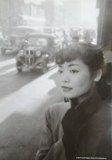 Werner Bischof Photo Print 21x30 Michiko Jinuma Fashion Student Tokyo Japan 1951