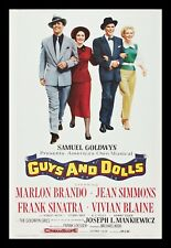 GUYS AND DOLLS * CineMasterpieces 1SH ORIGINAL ROLLED MOVIE POSTER 1955