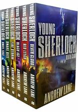 Young Sherlock Holmes Series Action Collection 6 Books Set Pack Andrew Lane  New