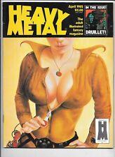 Heavy Metal Vol 6 #1 April 1982 Moebius Druillet Corben Bilal FN 1977 Series