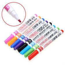 White Board Marker Pen 8 Color Set Dry-Erase Marker 1.5mm Fine Bullet Nib NEW US