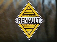 """PLAQUES PUBLICITAIRE tolée : """"L'age d'or de l'Automobile"""": RENAULT 32*23 cm"""