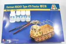 German Steyr RS0/01 Type 470 Tractor    1/35 Italeri , Voyager, Bison Cartograph
