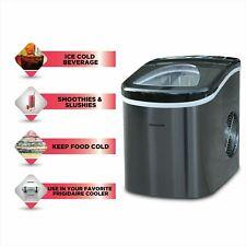 Frigidaire Nugget Ice Maker Pellet Countertop Machine Portable Black 26 lbs Fast