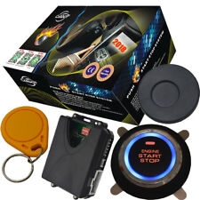 car engine start stop button with rfid alarm anti theft function  fit diesel car