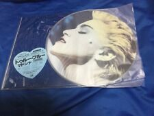 """F/S Madonna 1st press """"True Blue"""" Limited Production picture record"""