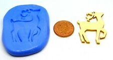Reusable Xmas Reindeer Silicone Mould Jewellery Card Topper Food Safe Tumdee 3