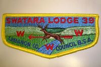 Boy Scout OA 484 Oratam flap 2306BB